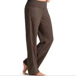 Athleta Lima Linen Roll Down Pant Shale Size: 0